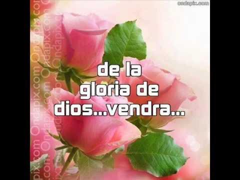 la gloria de dios con letra