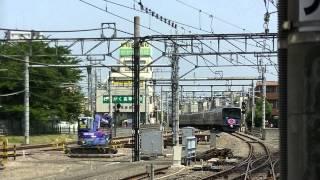 西武鉄道20151F 所沢3番~新宿線下り 臨時回送(ウーマノミクス)