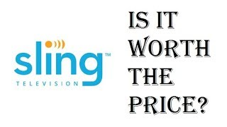 Sling TV - Is it Worth the Price $20, $25, $40? - Comparing Sling TV to DirecTV Cost - Review
