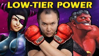 Secret Power of Low-Tier Characters - Fighting Game Analysis