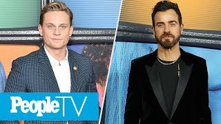 Billy Magnussen Gushes About 'Maniac' Costar Justin Theroux: Everyone 'Loves Him' | PeopleTV
