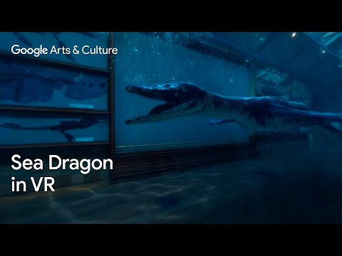Rhomaleosaurus: Back to Life in Virtual Reality #PreviouslyOnEarth by Google Arts & Culture