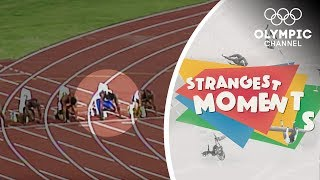 False starts and missed starts at the Olympics | Strangest Moments