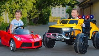 Tema ride on cars Fun Playtime with cars and toys