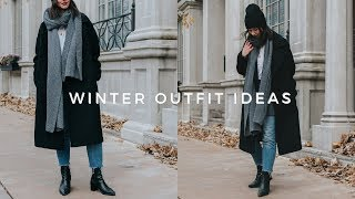 WINTER OUTFIT IDEAS | casual winter lookbook (2018) ❄️