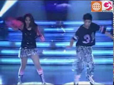 Baile Reggaetón  Sandra Muente y Eduardo Herrera Soto (El Show de los Sueños PERU 30-05-09)