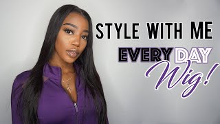 "HOW TO STYLE EVERYDAY WIG | ISHOW HAIR ""BODY WAVE """