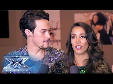 The Exit Interview: Alex & Sierra - THE X FACTOR USA 2013 - The X Factor USA  - BHDhsvuAQJ0 -