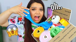 Underrated Slime Shop Review! 100% Honest Slime Package Review
