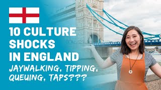 Culture Shock In England | 10 Things That Shocked Us | USA vs. England