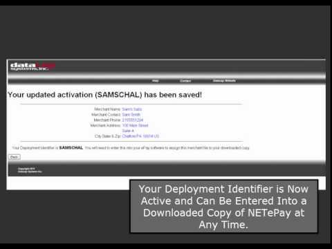 Datacap PSCS Tutorial - Configure, Purchase and Deploy NETePay easily online.