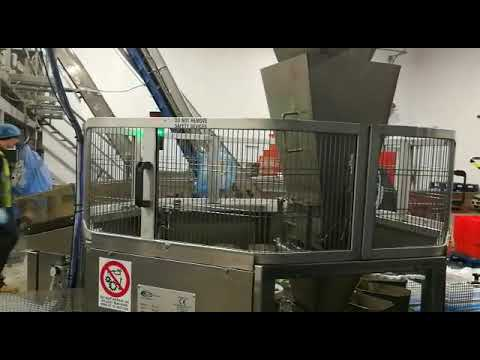 Giostra insalata/Tray filling machine