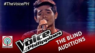"""The Voice of the Philippines Blind Audition """"Tadhana"""" by Daniel Ombao (Season 2)"""