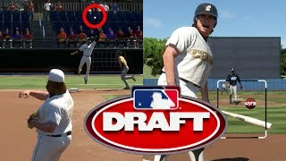 What Is The Lowest YOU CAN POSSIBLY Get DRAFTED! MLB THE SHOW 17 Road To The Show