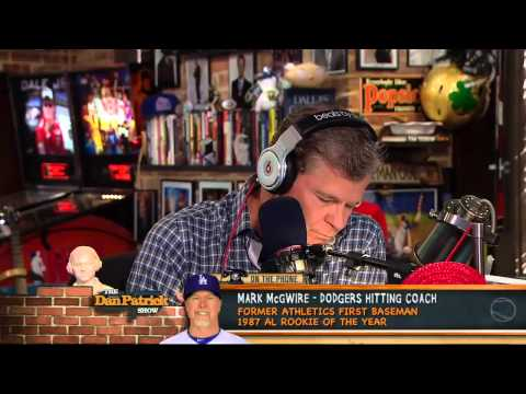 Mark McGwire on The Dan Patrick Show 11/9/12 - YouTube