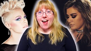 Vocal Coach Reacts to Kelly Clarkson Vs P!NK VOCAL BATTLE