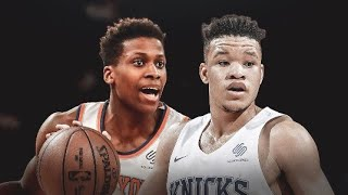 FRANK NTILIKINA & KEVIN KNOX TIME IS UP IN NEWYORK, AS LEON ROSE LOOKS TO BRING IN CHRIS PAUL TO N.Y