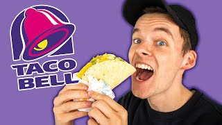 Eating EVERYTHING at TACO BELL!!