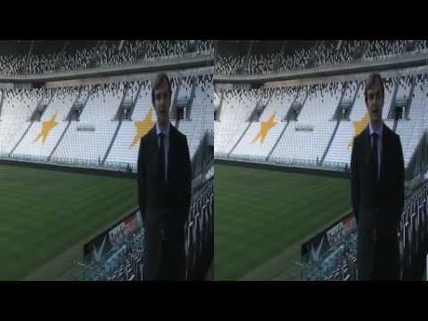 SKY 3D entra allo Juventus Stadium - Le immagini esclusive in 3D