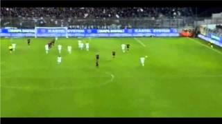 Gol di Lavezzi al '94 (Cagliari-Napoli 0-1) Commento Auriemma