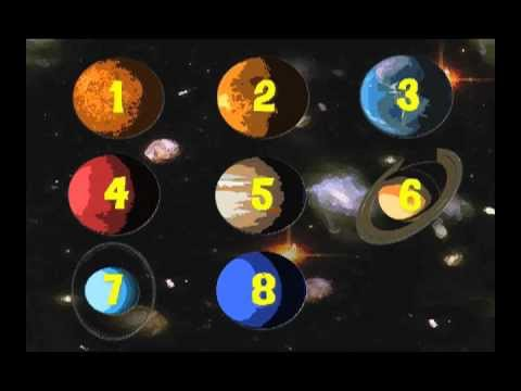 Counting the Planets Learning Song | Back to School Fun ...