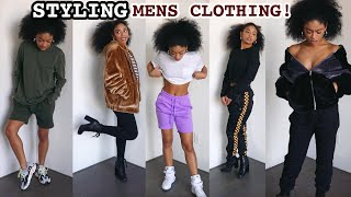Watch Me Style Clothes From The Men's Section ONLY! | jasmeannnn
