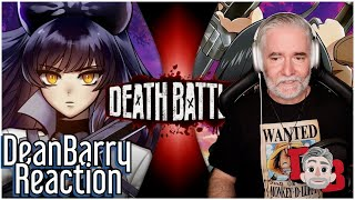 Blake VS Mikasa (RWBY VS Attack on Titan) DEATH BATTLE! REACTION
