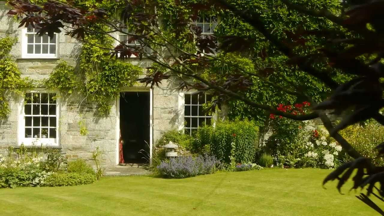 Beautiful Rural Georgian Manor House In North Cornwall