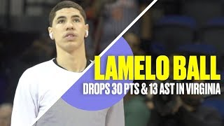 LaMelo Ball SHOWS OUT in Virginia With LaVar Looking On