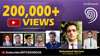 Muhammad Murtaza (3rd Position, PAS, CSS 2017)| SE 3,Ep 2| (Full Video)