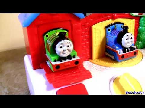 Thomas & Friends Musical Pop-up Pals vs. Sesame Street Singing Pop-up pals vs. Minnie Mouse