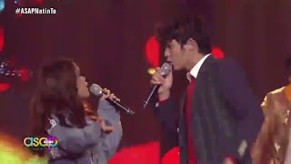 """Janine Berdin and Iñigo Pascual in an amazing performance of """"Rather Be"""" by Clean Bandit"""