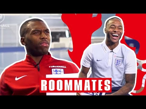 Sturridge Finds Out His FIFA Pace is 76!   Sturridge and Sterling   Roommates