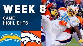 Chargers vs. Broncos Week 8 Highlights | NFL 2020