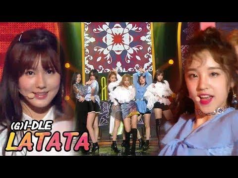 [HOT Debut]  (G)I-DLE - LATATA,  (여자)아이들 - 라타타 Show Music core 20180512