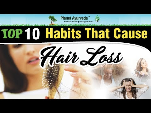 TOp 10 common Habits That Can Lead To Hair Loss