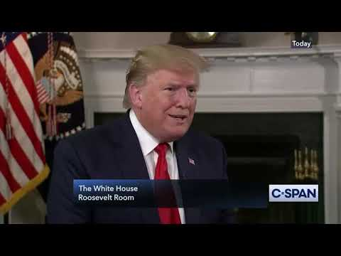 Interview: Steve Scully of C-SPAN Interviews Donald Trump at The White House - July 30, 2019
