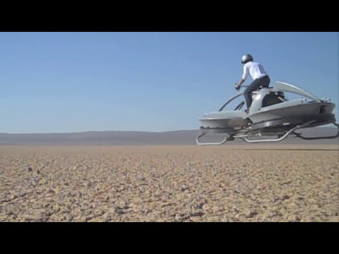 Hover \'Bike\' Flies on Pilot\'s Intuition   Video