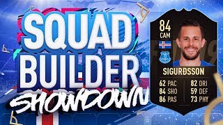 THE BIGGEST DISCARD OF FIFA 19 SQUAD BUILDER SHOWDOWN!!! INFORM GYLFI SIGURDSSON!!!