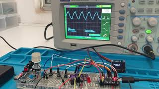 ARDUINO NANO + SI5351 3 output HF VHF VFO - py2ohh