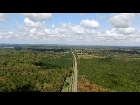 screenshot of youtube video titled From the Sky | Highway 81