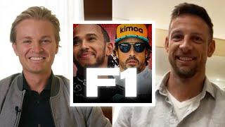 Hamilton vs Alonso – Who's Faster? Talking F1 with Jenson Button! | Nico Rosberg | Podcast #20