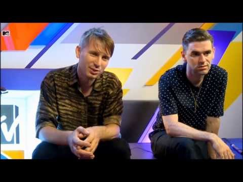 MTV News Interview - Franz Ferdinand 2013