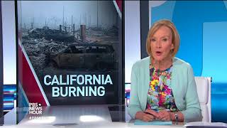 Hundreds are missing as out-of-control California fires burn