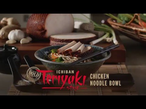 Boar's Head Bold® Ichiban Teriyaki™ Style Chicken Noodle Bowl