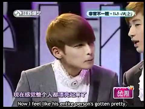 [Eng Sub] Exceptionally Unlike Another (110428) - Super Junior M (1/5)