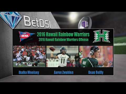 2016 NCAA Betting | Hawaii Rainbow Warriors Team Preview and Odds