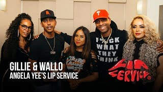 Angela Yee's Lip Service Ft. Gillie Da King & Wallo267