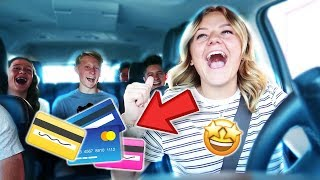 LETTING THE CASHIER CHOOSE WHO PAYS | DRIVE THRU CHALLENGE | KESLEY LEROY