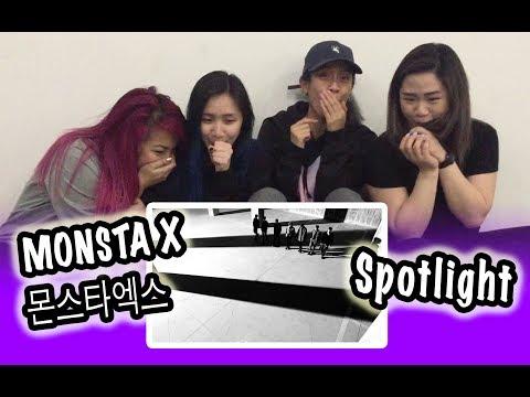 [MV REACTION] MONSTA X -- SPOTLIGHT
